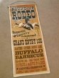 Rustic Canvas Playbill 35x14  -Rodeo  (P61)