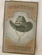 Rustic Tin Sign 10x16 -Western Country  (P54)