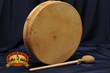 "Elk Native American Hand Drum 12"" -Cherokee"