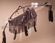 "Native American Bow & Knife Quiver 43"" -Chocolate (B43)"