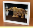 Southwestern Art Shadow Box -Bear (sb2)