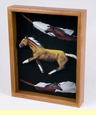 Southwestern Art Shadow Box -Horse (sb7)
