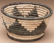 "Native American Style Basket 7""x4"" (a1)"