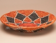 "Southwest Indian Style Palm Basket 14.5"" (72)"