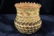 Hand Woven Tarahumara Indian Basket  5.5x6  (66)