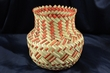 Hand Woven Tarahumara Indian Basket  5.5x7  (67)