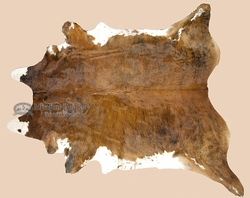 "Brindle Cow Hide 88""x92"" -Tiger Stripe  (4)"