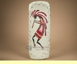Hand Painted Tarahumara Indian Bowl  8x21 -Kokopelli  (b21)
