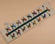 "Southwestern Zapotec Indian Table Runner Tapestry 40""  (3a)"