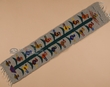 Zapotec Tapestry Wall Hanging Table Runner 10x40  (s4)