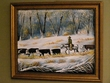 "Hand Painted Western Cowboy Art 19""x23"" -Trail Ride   (15)"