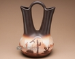 "Native American Navajo Wedding Vase 13"" -Southwest  (v214)"
