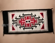 "Zapotec Indian Tapestry Rug 23""x 46"" (zr8)"