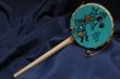 "Native Rawhide Drum Rattle 9"" -Kokopelli"