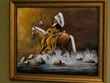 "Hand Painted Western Art 19""x23"" -Indian Chief  (10)"