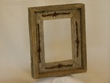 Rustic Barn Wood & Barb Wire Picture Frame for 5x7 (wide)