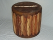 Cedar Southwest Indian Drum Table 22 x 22 -CLEARANCE