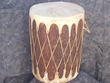 Native American Log Drum 14x19