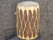 Native Log Floor Drum 12x20