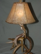 "Special White Tail Antler Lamp 20"" (A1)"