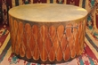 "Tarahumara Pow Wow Drum 36""x18"" -Damage Clearance"