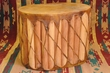 Tarahumara Indian Cedar Drum Table -Damage Clearance