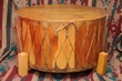 Cedar Pow Wow Drum  36x18 -Damaged -Free Shipping