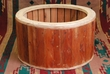 Tarahumara Indian Cedar Drum Ring 22x18 -Clearance