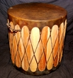 "Cedar Pow Wow Drum 19""x19"" -CLEARANCE"