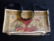 "Western Indian Style Flat Bottom Cotton Strap Purse 17""x11"""