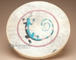 "Painted Drum Tarahumara Indian 16"" -Gecko"