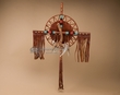 "Rustic Southwestern Pueblo Indian Cross 20"" -Antler  (c11)"