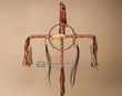 "Tigua Indian Dreamcatcher Medicine Cross 16"" (c12)"