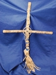 "Southwest Native American Cross -Tigua 24""  (6)"