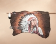 Navajo Lance & Hide Wall Hanging -Chief  (34)
