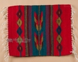 "Zapotec Indian Wool Place Mat  16""x20"" (ax)"