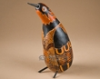 "Southwest Hand Carved Andian Indian Gourd Bird 11.5""  (1)"