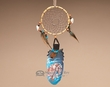 "Kiowa Cedar Feather Dream Catcher 11"" -Protector  (101)"