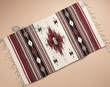 "Zapotec Indian Tapestry Rug 23""x39"" (155)"