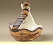 Hand Carved Natural Gourd Basket -Andean Indian  (2)