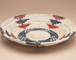 "Navajo Indian Style Basket 14""  (5)"