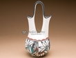 "Tigua Indian Painted Clay Wedding Vase 10""  (p146)"