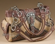 Designer Western Purse -Saddle  (p403)