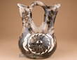 "Horse Hair Navajo Pottery Wedding Vase 8.5"" -Sunface (283)"