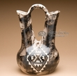 "Native American Horse Hair Wedding Vase 13"" -Navajo  (p226)"