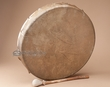 Native American Buffalo Hand Drum -Kiowa 18""