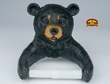Southwestern Black Bear Toilet Paper Holder  (t2)