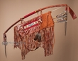 Native American Tigua Indian Bow, Arrows & Quiver 42""