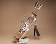 "Tarahumara Indian Arrow Quiver Set 19"" -Wolf Dancer  (q16)"