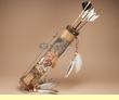 "Tarahumara Quiver & Arrow Set 19"" -Spirit Skull  (q18)"